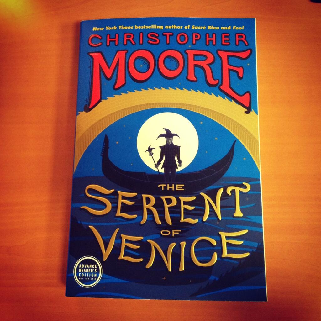 The Serpent of Venice Advanced Reader's Preview